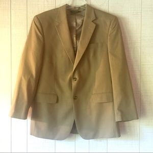 JOS A. BANK Stays Cool Wool Khaki 42R Blazer